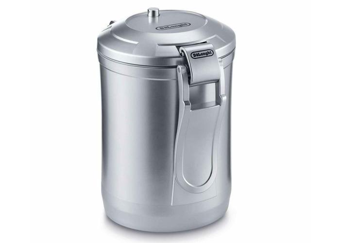 De'Longhi DECC500 Vacuum Coffee Canister, 1.6L - Silver - 1