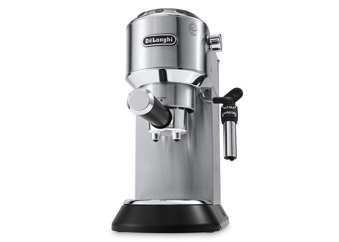 De'Longhi Dedica Style Traditional Pump Espresso Machine (3 Colours)-Black - 1