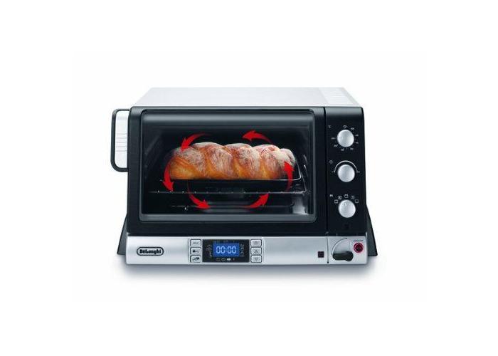 De'Longhi EOB20712 Pan Gourmet Electric Oven - Black & Silver - 2