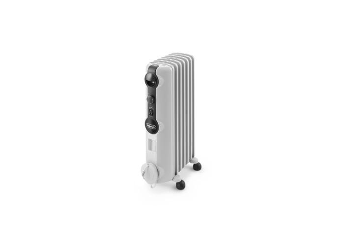 De'Longhi TRRS0715 Oil Filled Radiator - White - 1