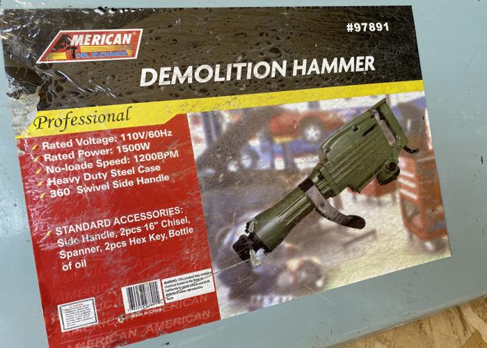 Demolition Hammer - 1