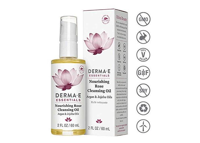 Derma E Beauty - Nourishing Rose Cleansing Oil - 2oz / 60ml - 1
