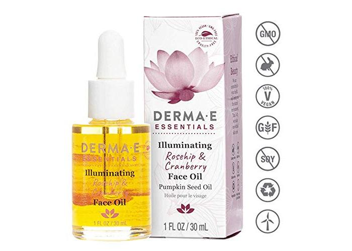 Derma E Essentials - Illuminating Face Oil - 1oz / 30ml - 1