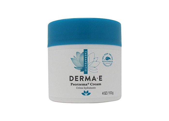 DERMA E Psorzema Cream, Natural Relief for Scaling, Flaking, and Itching, 4 Oz - 2