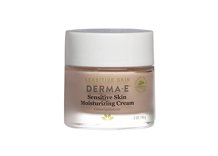 DERMA E Sensitive Skin Moisturizing Cream with Pycnogenol Vitamins A, C and E 2oz - 2