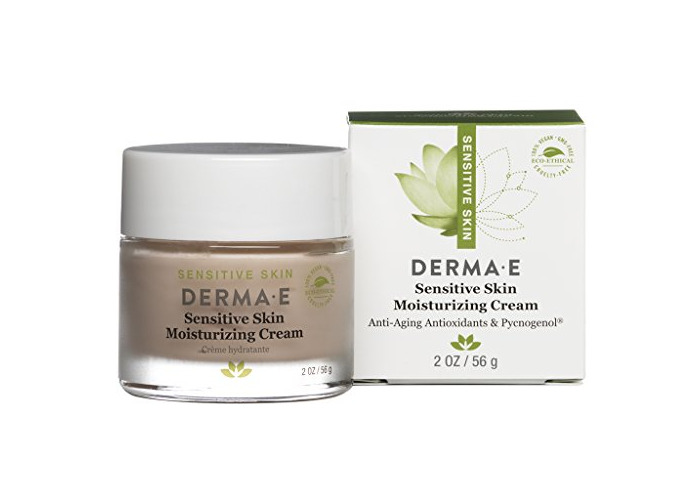 DERMA E Sensitive Skin Moisturizing Cream with Pycnogenol Vitamins A, C and E 2oz - 1