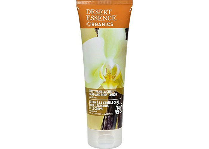 Desert Essence - Hand and Body Lotion Spicy Vanilla Chai - 8 fl. oz. - 1