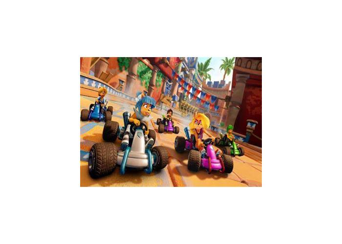 Destroy Crash Bandicoot in crash team racing - 1