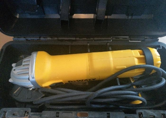 DeWalt 4 inch angle grinder 240 volt - 1