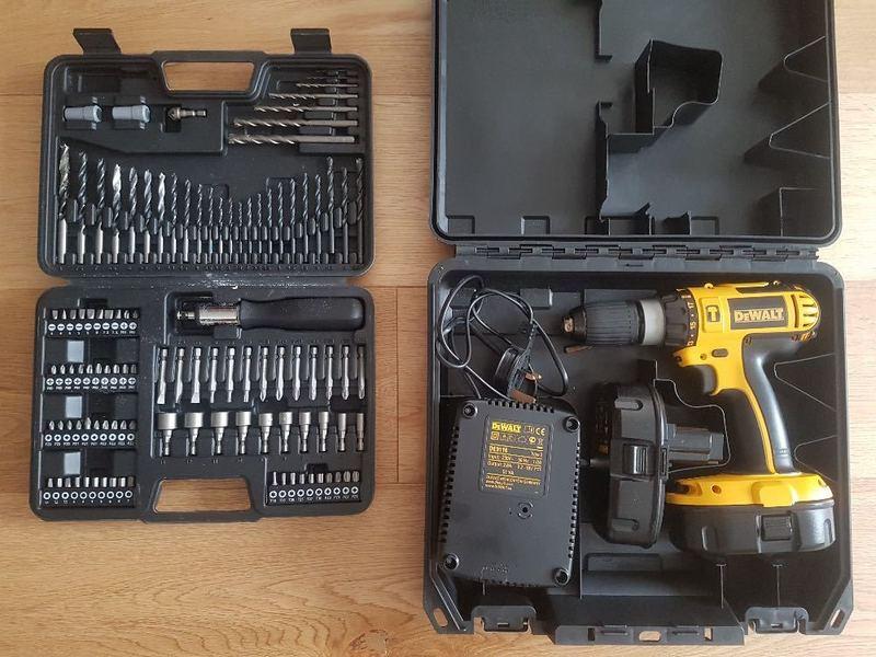 Rent Dewalt Cordless Drill Plus Drill Bits in Croydon