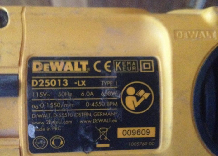 DeWalt Power Drill D25013 650w  - 2