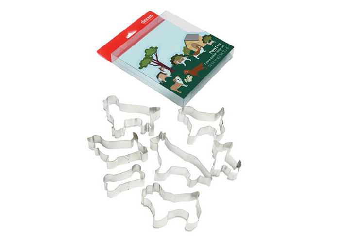 Dexam Puppy Love 7 Piece Cookie Cutter Set - 1