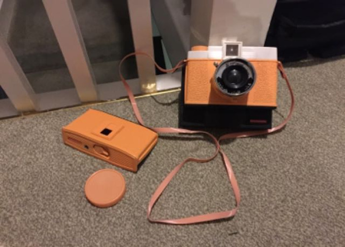 Rent Diana+ 120mm Film Camera With Instax Instant Back Lomography in Sutton  at Hone