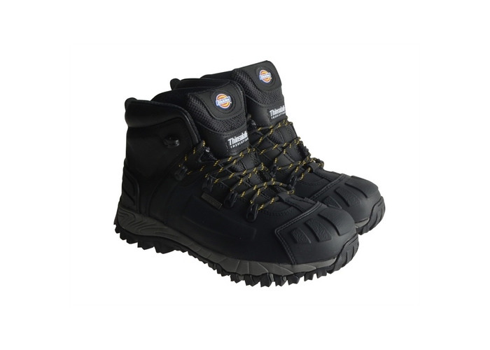 Dickies FD23310 BK 7 Medway Safety Hiker Black Size UK 7 Euro 41 - 1