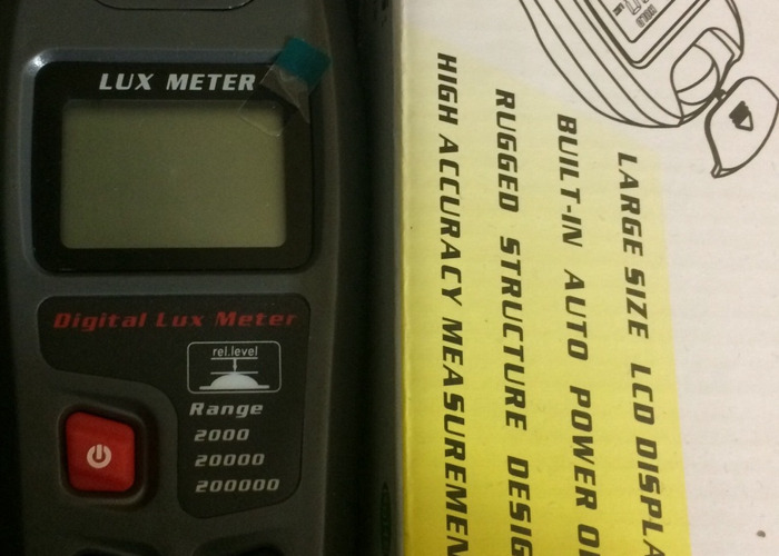 Digital Lux Meter - 2
