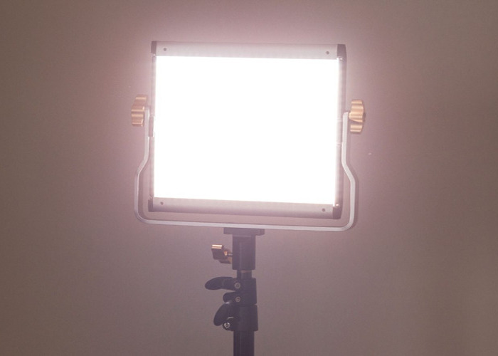 Dimmable Bi-color 480 LED Video Light and Stand - 1