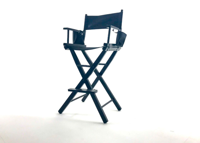 Director's Chair Collapsible Portable Wood Frame - 2
