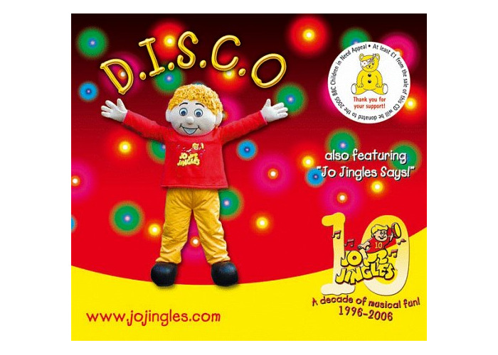 Buy Disco [Audio CD] Jo Jingles | Fat Llama