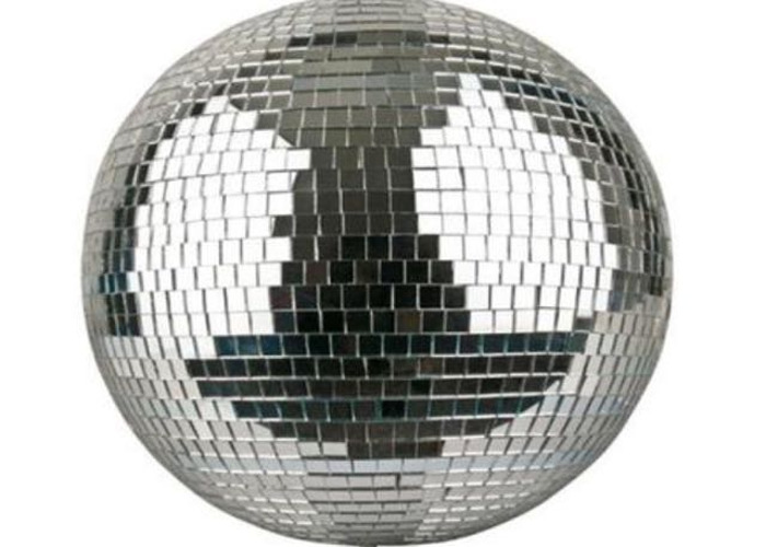 Disco ball 50cm with large 10mm mirrors - 1
