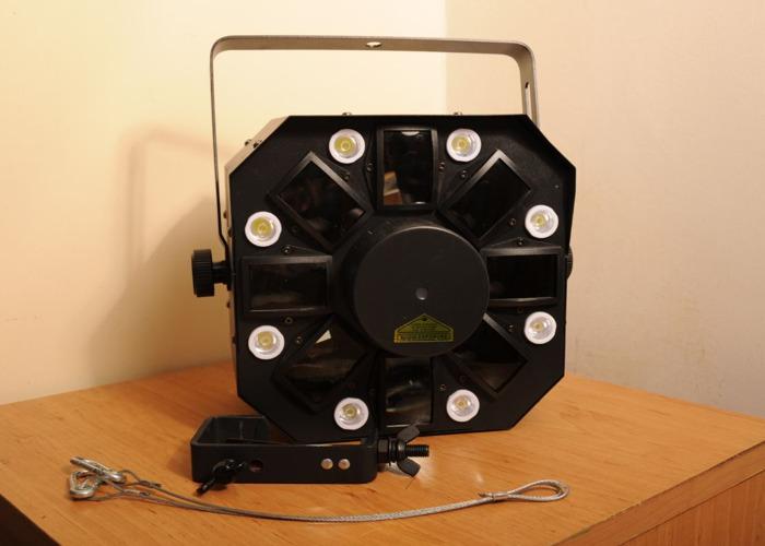 Disco Light: ADJ Stinger (3-in-1) Moonflower, Strobe, Laser - 2