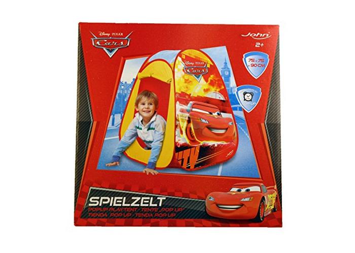 Disney John GmbH Cars Pop-Up Play Tent (Red) - 1