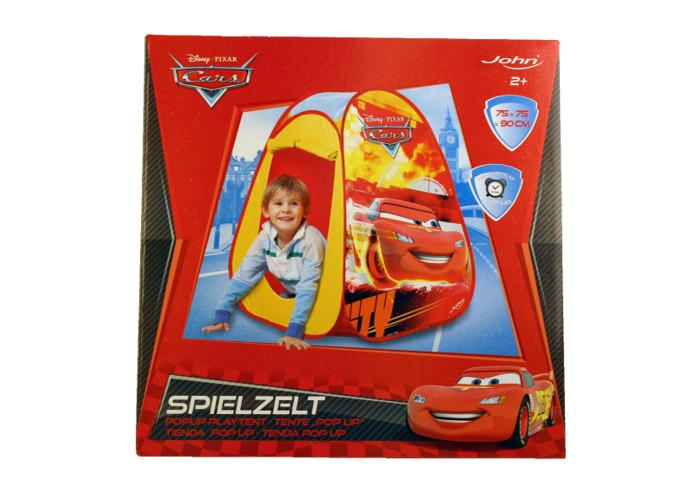 Disney John GmbH Cars Pop-Up Play Tent (Red) - 2