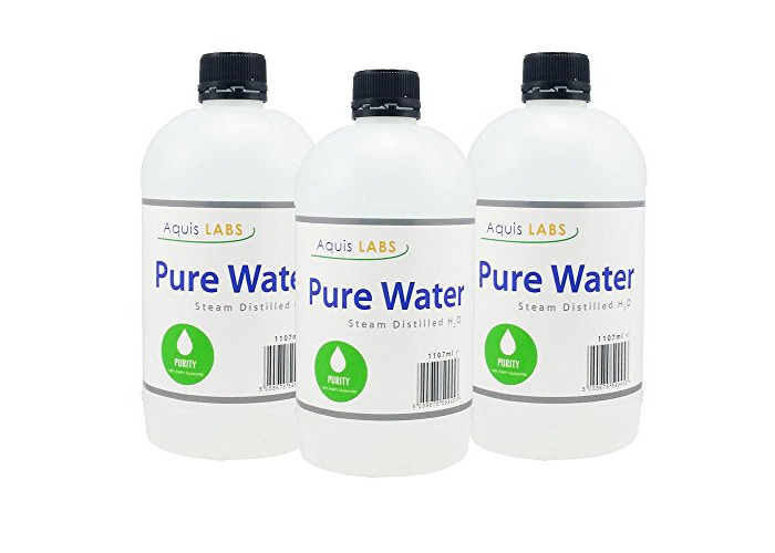 Distilled Water - 1107ml - 6 Pack - Ultra Pure Water - 1