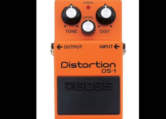 Distortion DS-1 Pedal - 1