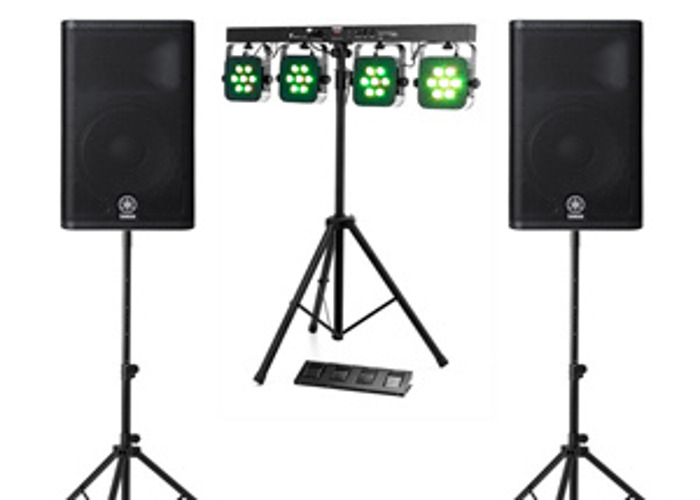 DIY DJ - Party Package PA & Lights - 1