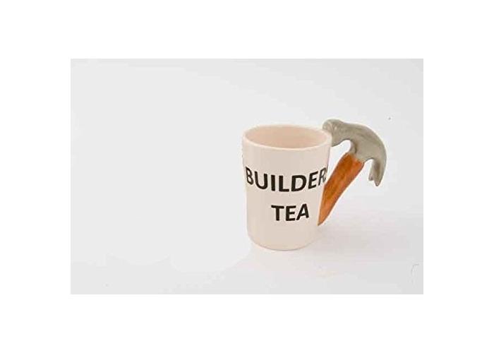 DIY Hammer Mug Builders Tea Gift Mug - 1