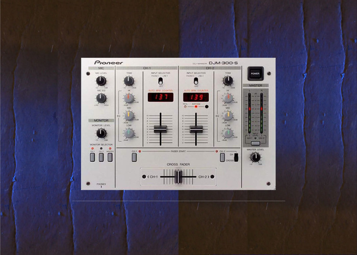 DJ mixer pioneer mdj300s mixer  - 1