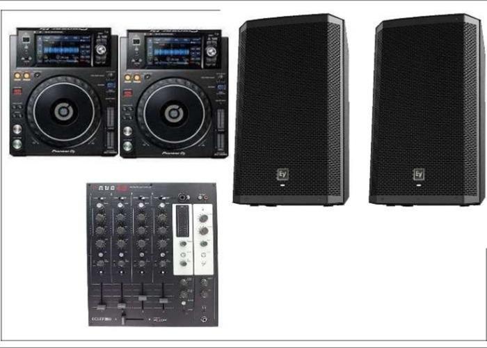 DJ Package  CDJs - XDJ1000 Pioneer - 1