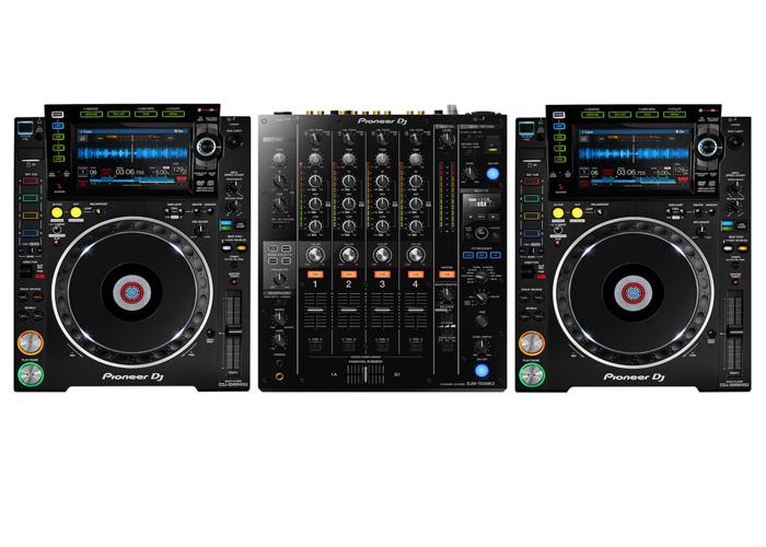 A Full DJ Setup  - 1
