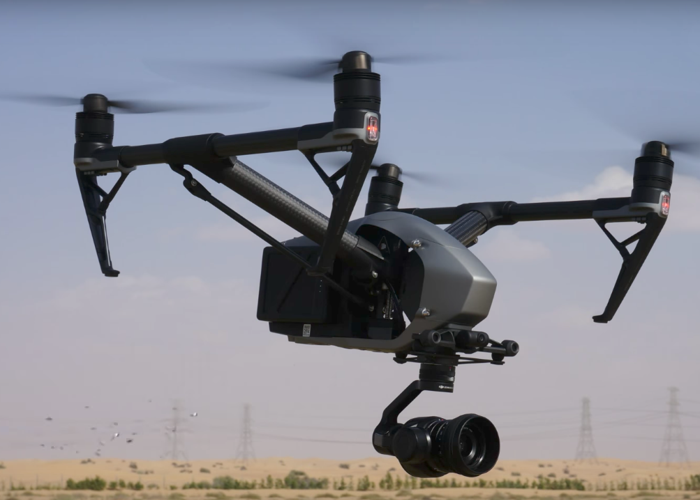 Operator with DJI Inspire 2 with X5S  - 1