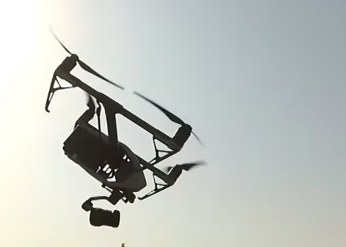 Operator with DJI Inspire 2 with X5S  - 2
