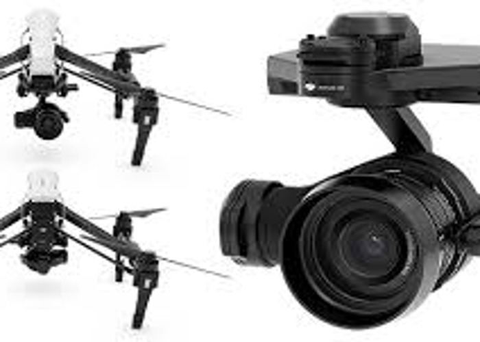 DJI Inspire Drone with x5r Camera and Professional Pilot  - 1