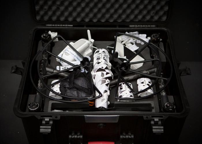 DJI Inspire one pro - 5x batteries - Hard case zenmuse x5 - 2
