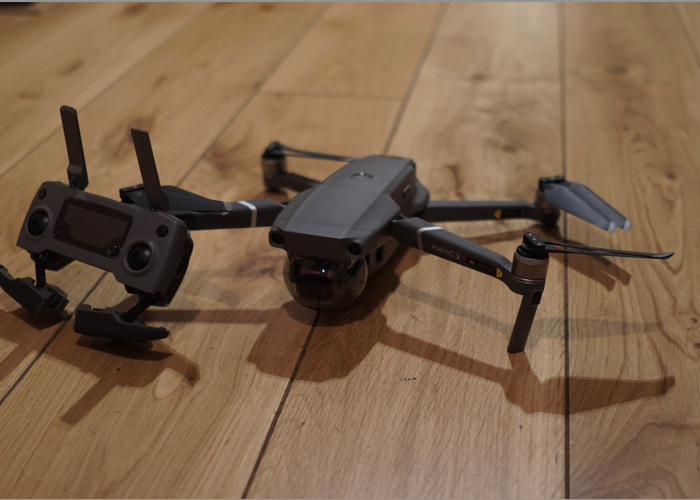 DJI Mavic 2 Drone with Case and Spare Battery - 1