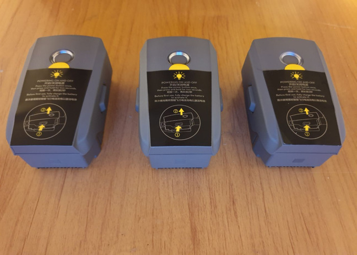 DJI Mavic 2 Pro Battery (x3) - 2