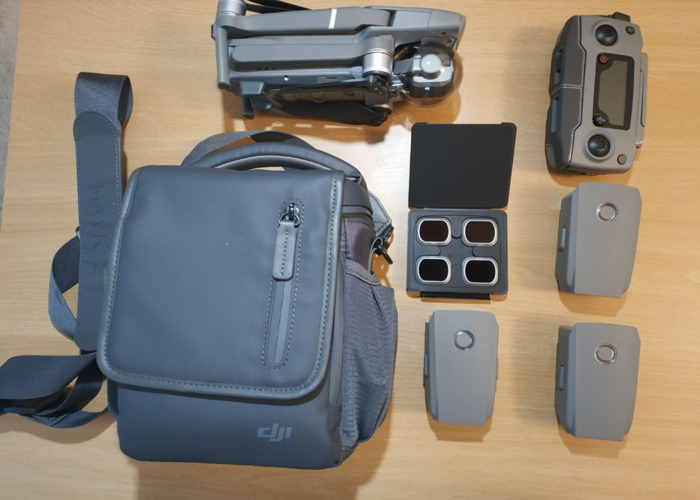 DJI Mavic 2 Pro with 4 batteries, ND filters and PFCO pilot - 2