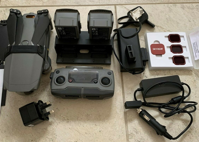 DJI Mavic 2 Pro with fly more kit 4k Hasselblad - 2