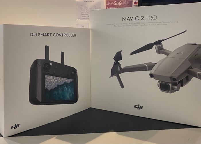 Dji Mavic 2 pro with smart controller  - 2