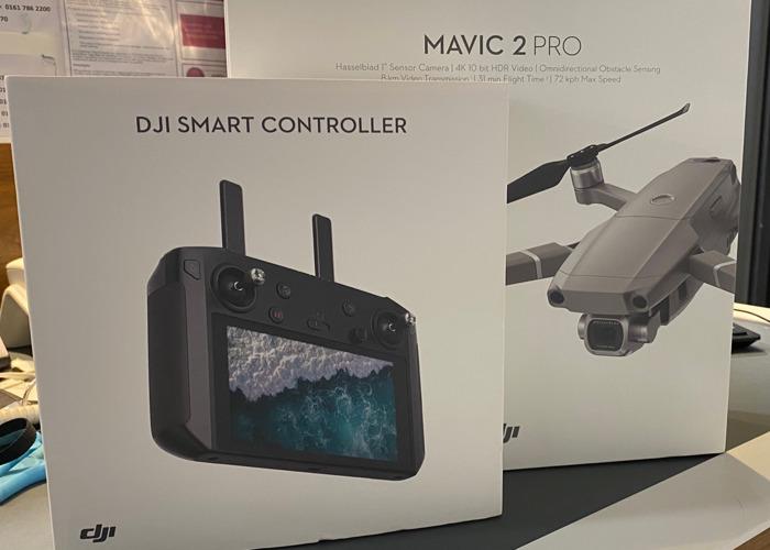 Dji Mavic 2 pro with smart controller  - 1