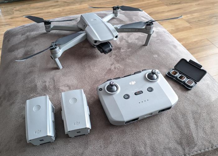 DJI Mavic Air 2 - 4k Drone (2020 Release, 4k60 capable) - 1