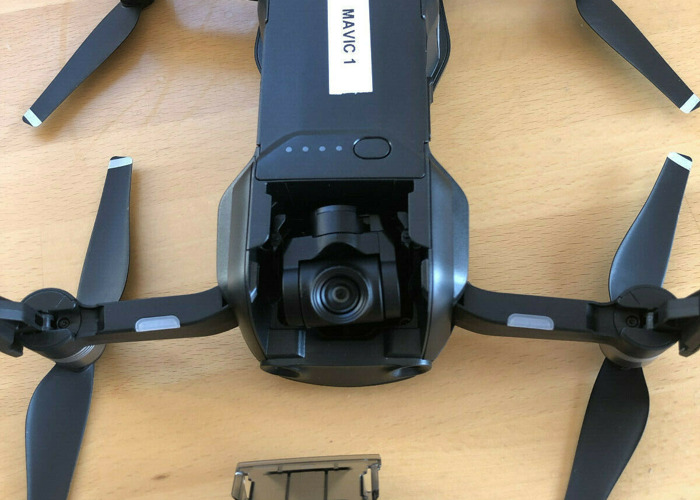 DJI Mavic Air Drone with 3 Batteries & SD Card (Black) - 2