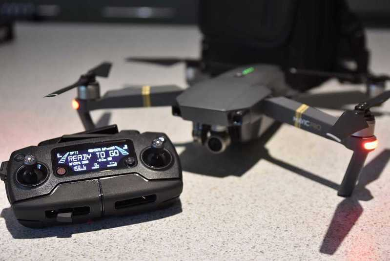 DJI Mavic Pro Drone with 2x Batteries - 1