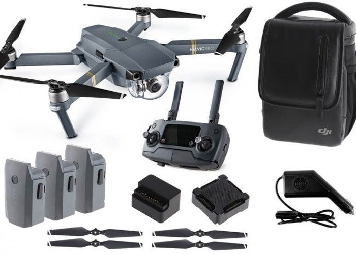 DJI Mavic Pro - 4 Batteries - Fly More Combo with case - 2