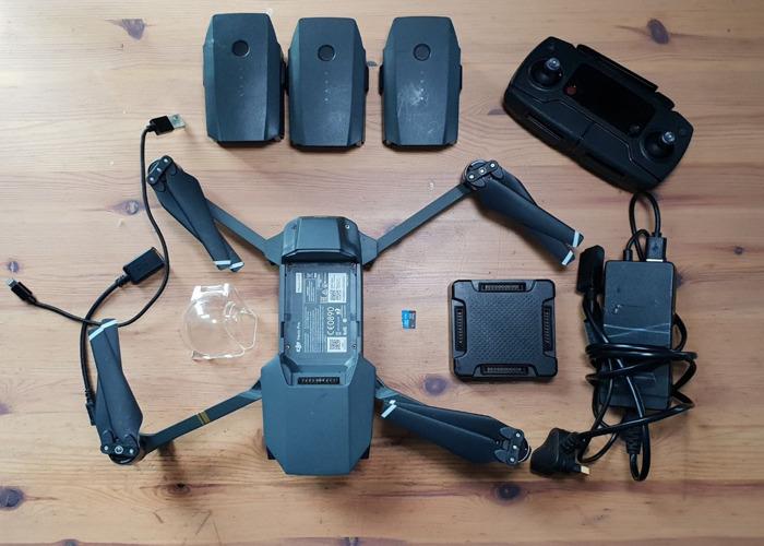 DJI Mavic Pro !! 50 £ por semana !! Drone + 3 Bateria + Bolsa - 2