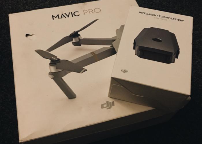 DJI Mavic Pro + an extra battery (50 mins of flight) - 1