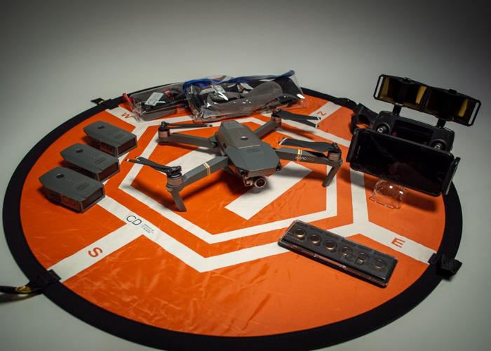 DJI Mavic Pro - Extra Batteries - PolarPro PLND Filters - 1